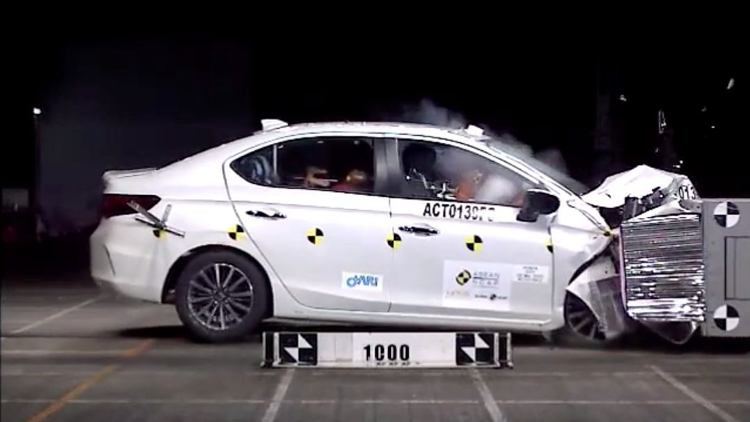 The 2020 Honda City has got a 5-star safety rating in the latest ASEAN NCAP crash tests.