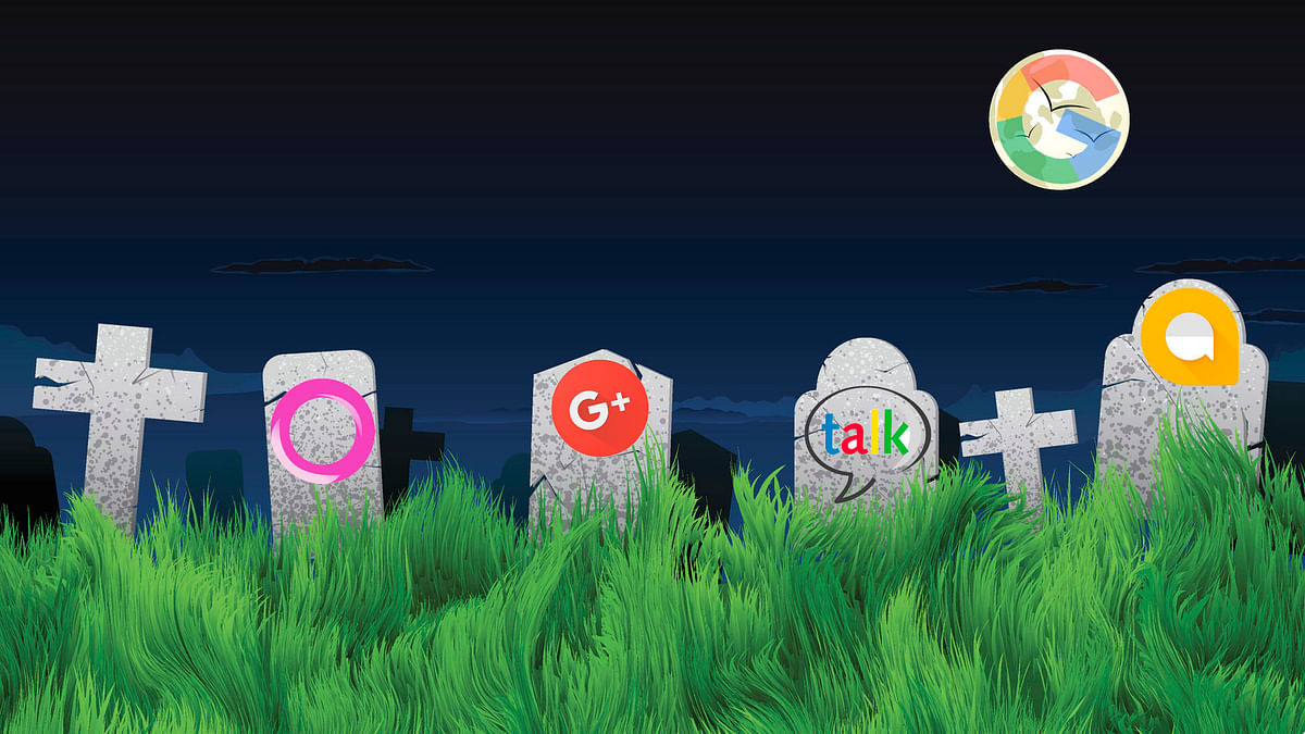 Google has killed almost 200 apps, services and hardware since its inception.