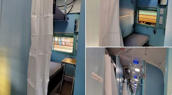 Railways Builds Prototype of Isolation Wards in Non-AC Coaches