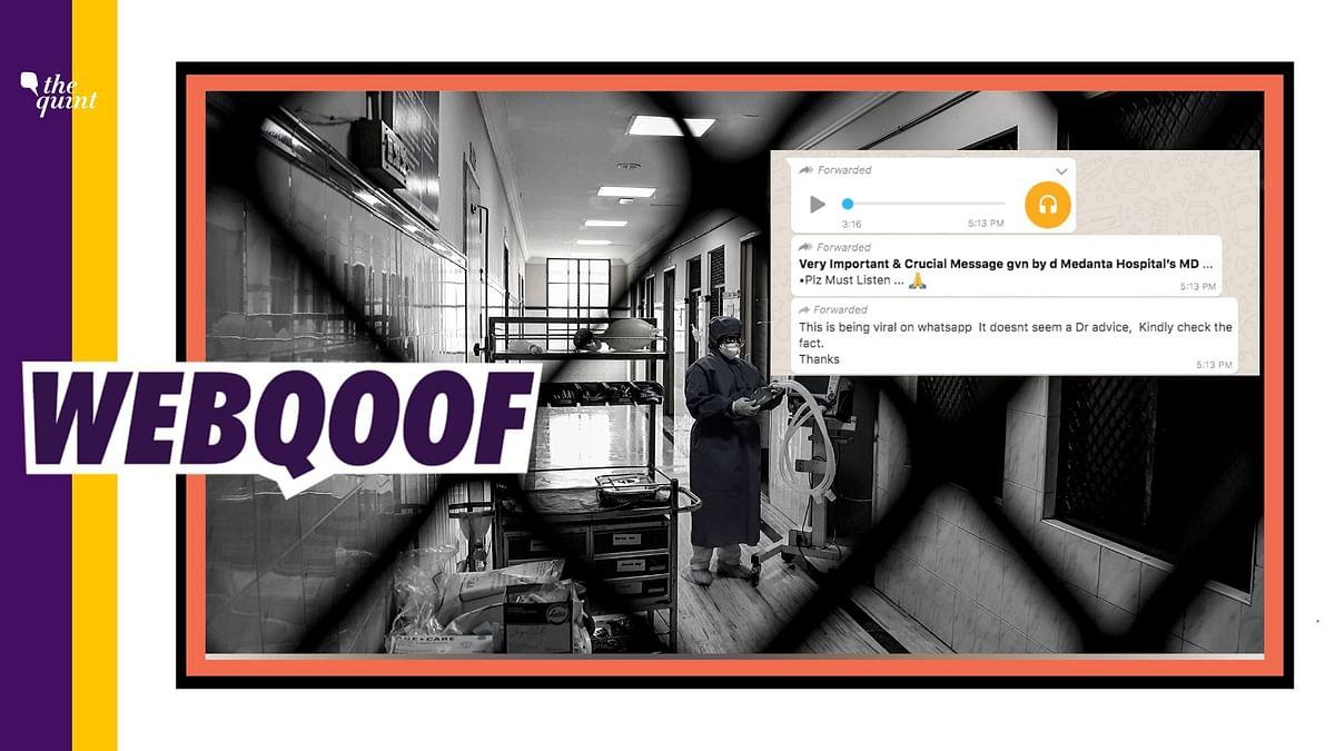 Audio on COVID-19 'Cure' Falsely Linked to Medanta Hospital's MD