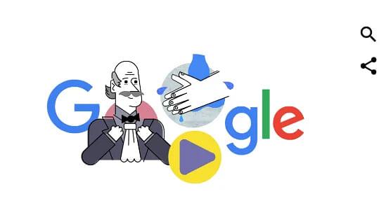 Google Doodle Features Dr Ignaz Semmelweis During COVID-19 Panic
