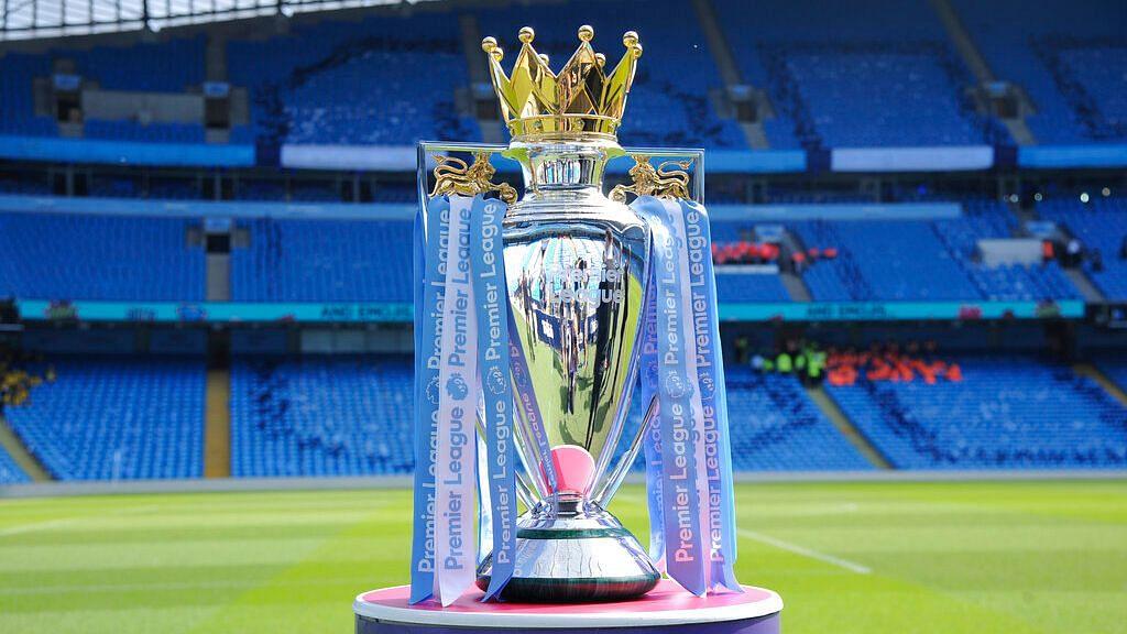 The English Premier League trophy.