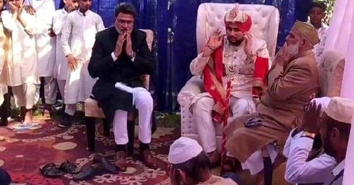 The wedding of Abdul Hakeem.
