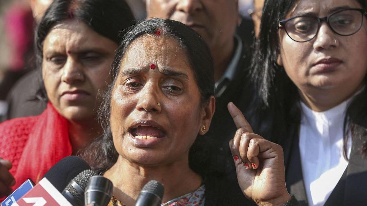 File image of Nirbhaya's mother Asha Devi.
