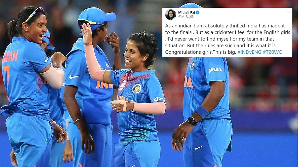Mithali, Virat Laud Harmanpreet & Co For Their Maiden T20 WC Final