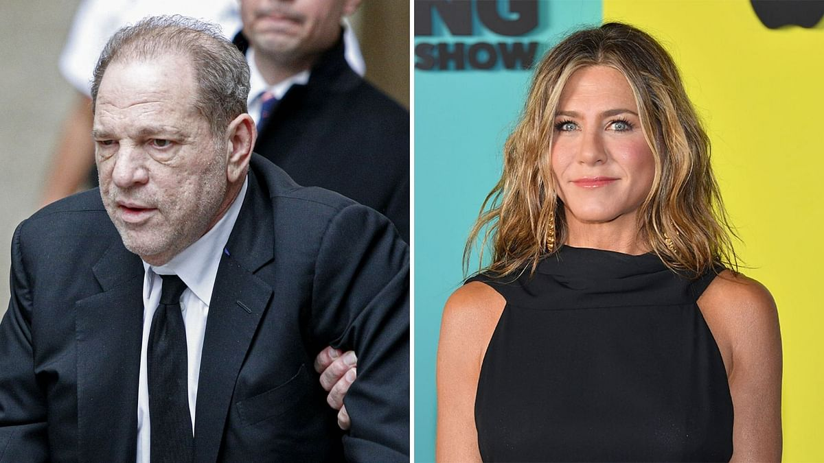 Harvey Weinstein had apparently threatened Jennifer Aniston.