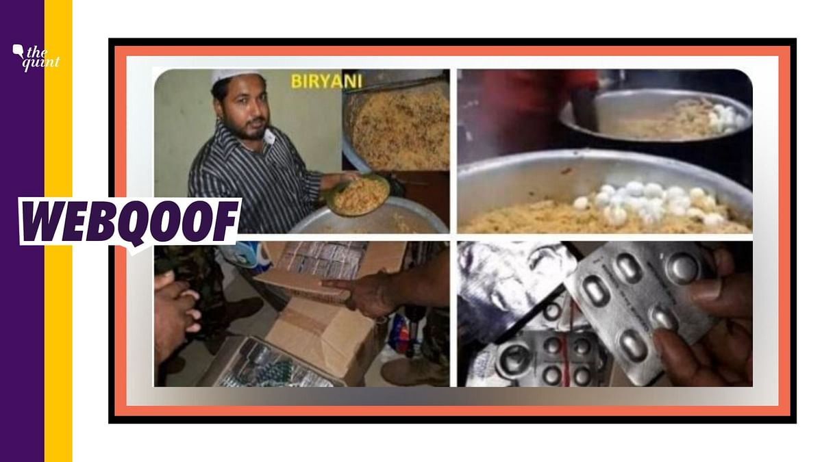 Biryani Laced With Drugs for Hindus? No, Photos Are Unrelated