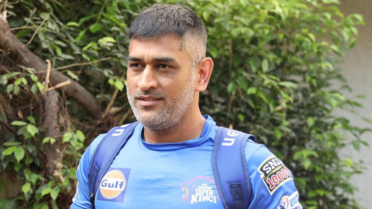 MS Dhoni has already started training for the Chennai Super Kings from the first week of March.
