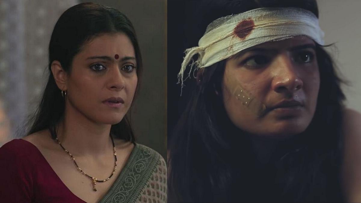 Kajol in <i>Devi </i>and Shamangi Sharma in <i>Four.&nbsp;</i>