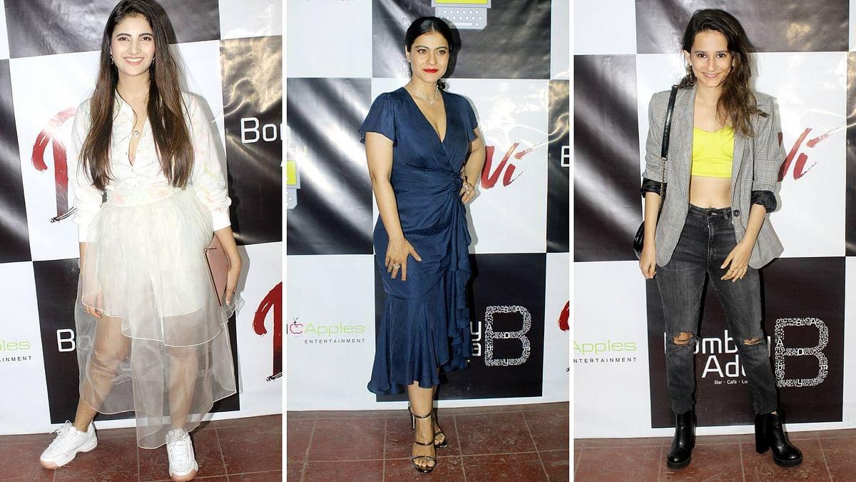 In Pics: Kajol-Starrer 'Devi' Team at the Film's Success Party