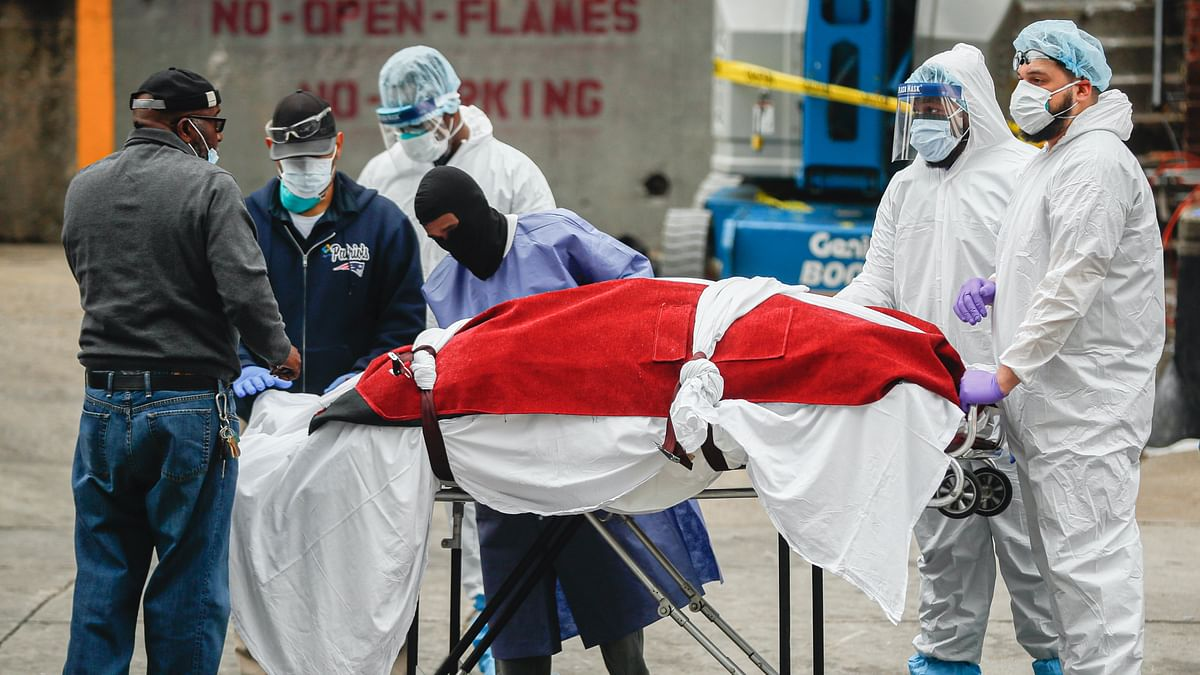 US COVID-19 Death Toll Exceeds Official China Tally: Johns Hopkins