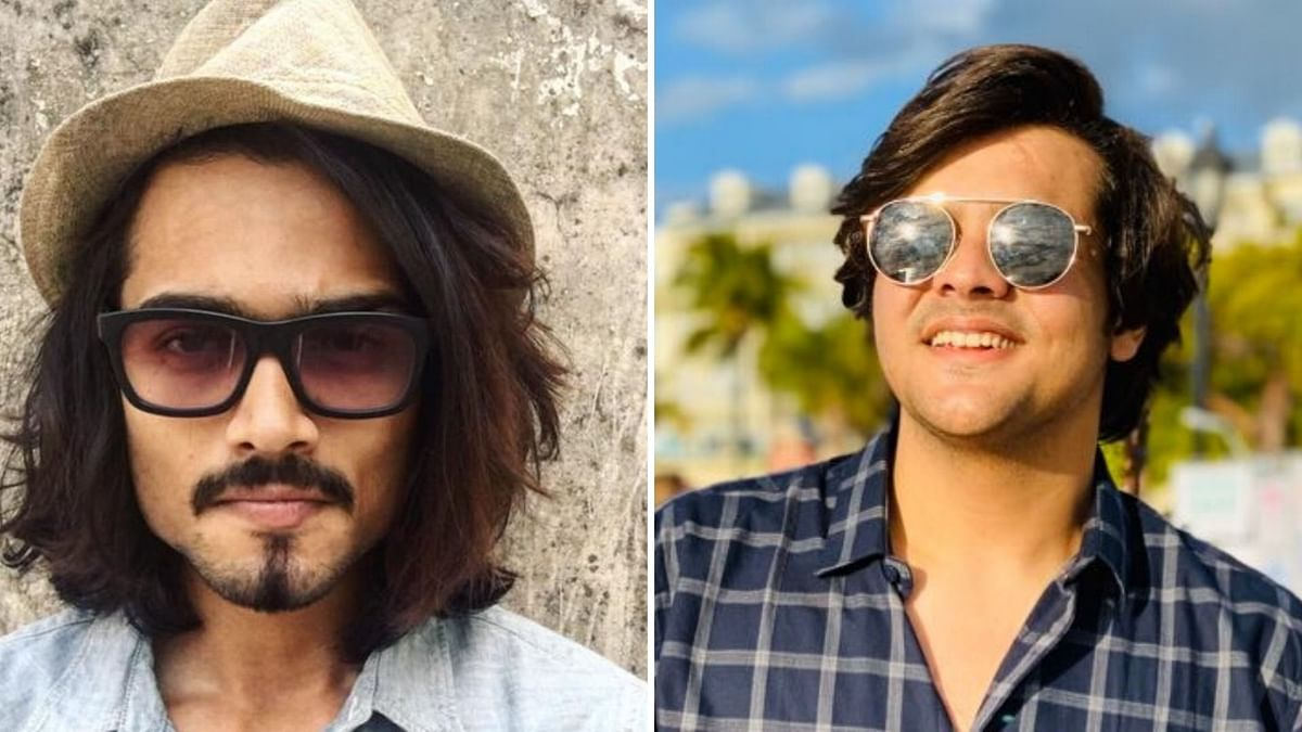 YouTubers Bhuvan Bam and Ashish Chanchlani
