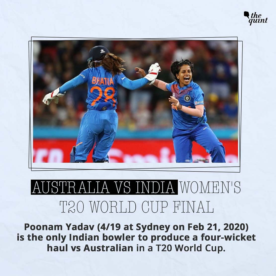 India vs Aus T20 WC Final: Head-to-Head, Venue Stats & More