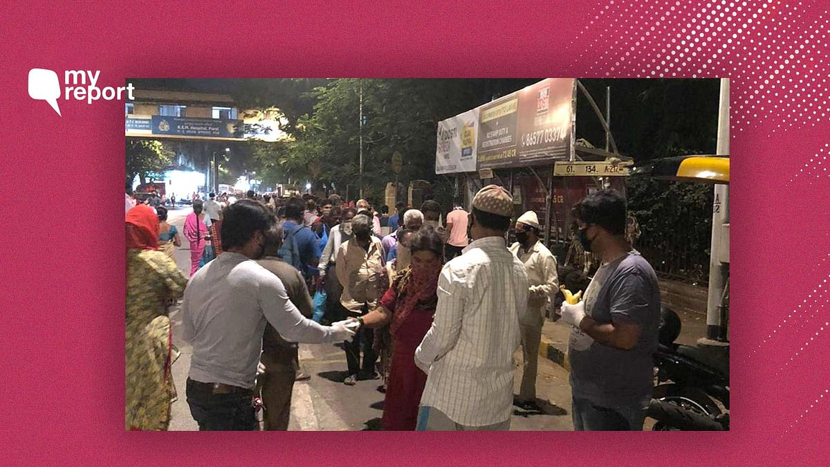 Amid the lockdown, Kurla locals are helping those in need.