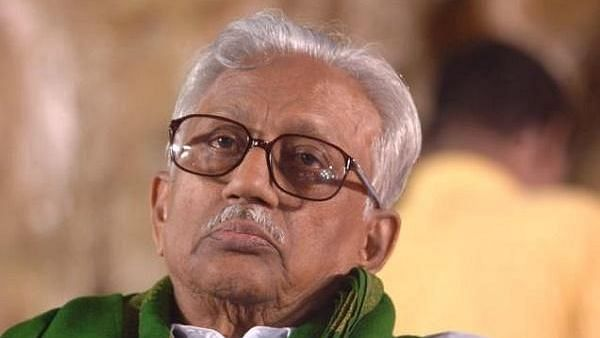 DMK General secretary K Anbazhagan, aged 97, passed away on Saturday, 7 March, after struggling with ill health for over a year.