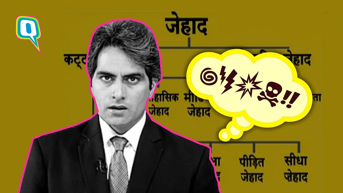 Sudhir Chaudhary's Jihad segment was a blatant, naked, proud, display of Islamophobia.