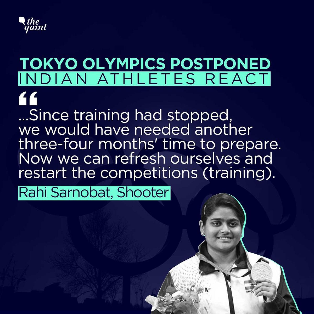 Life Comes First: India's Tokyo-Bound Athletes Hail Postponement