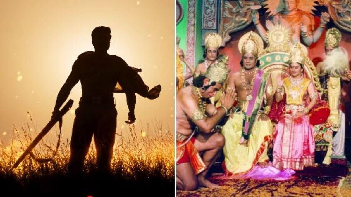 QuickE: Ram Charan's Look From 'RRR'; 'Ramayana' to Return