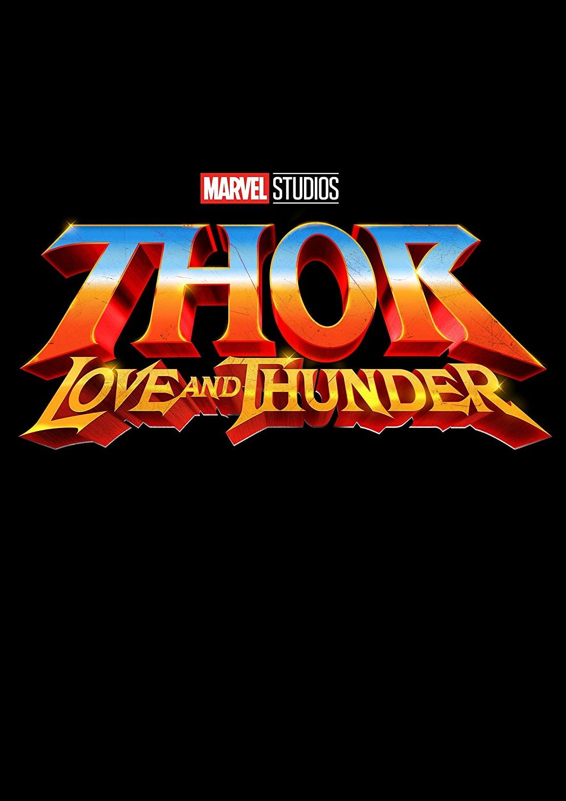 The movie poster of <i>Thor: Love and Thunder.</i>