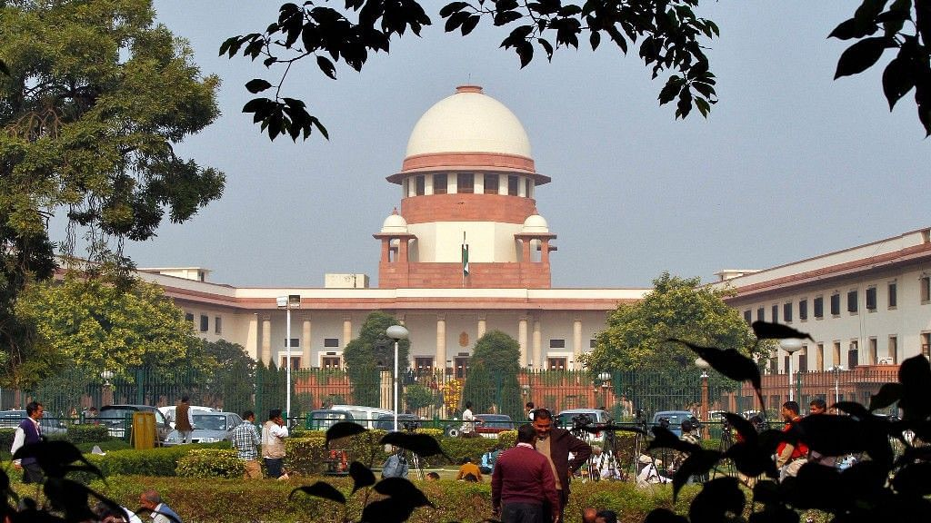 File photo of Supreme Court of India in New Delhi.