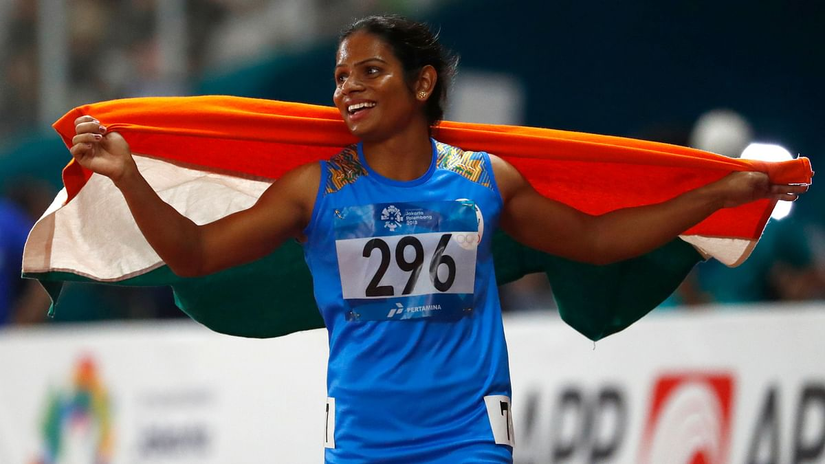 Dutee Chand won a silver each in both 100m and 200m in 2018 Asian Games.