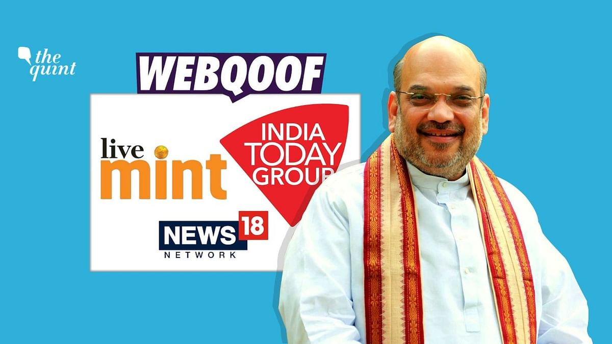 Several media outlets misquoted Home Minister Amit Shah to say that he has revealed that the govt is using Aadhaar data for facial recognition.