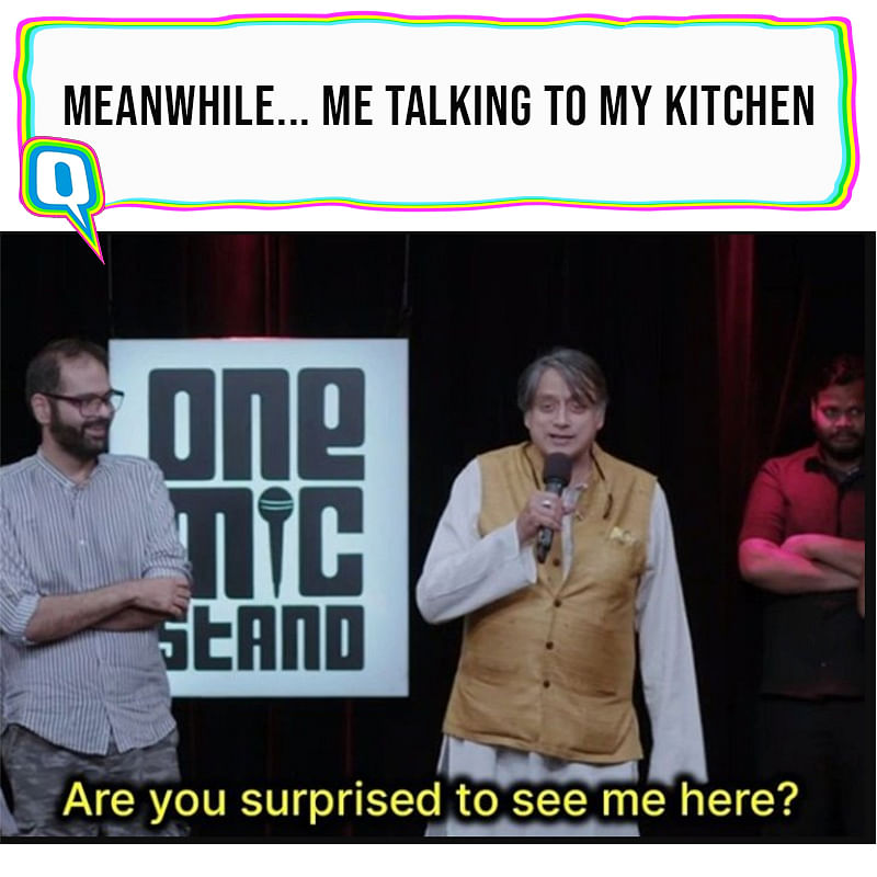 I gotta bond with the kitchen now since I'll be spending a lot of time in there.