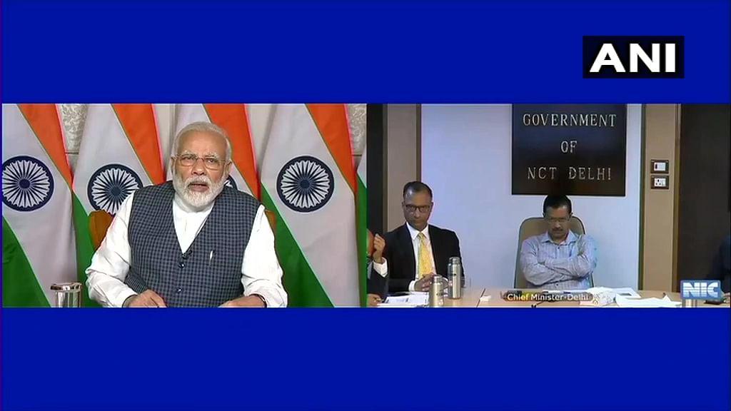 PM Modi Discusses Ways to Check Coronavirus Spread with CMs