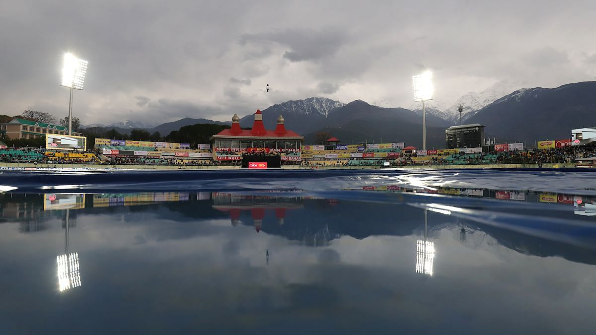 Even the toss couldn't take place due in India vs South Africa 1st ODI in Dharamshala due to the inclement weather.