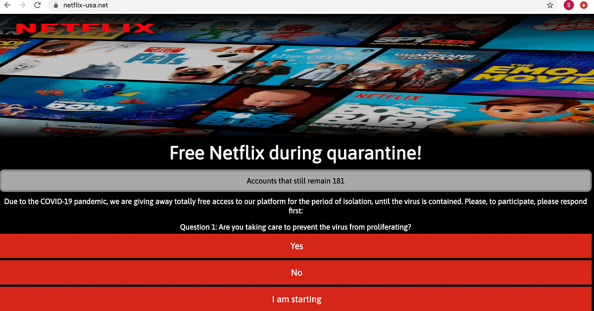 COVID-19: No, Netflix, Amazon Aren't Offering Free Subscriptions