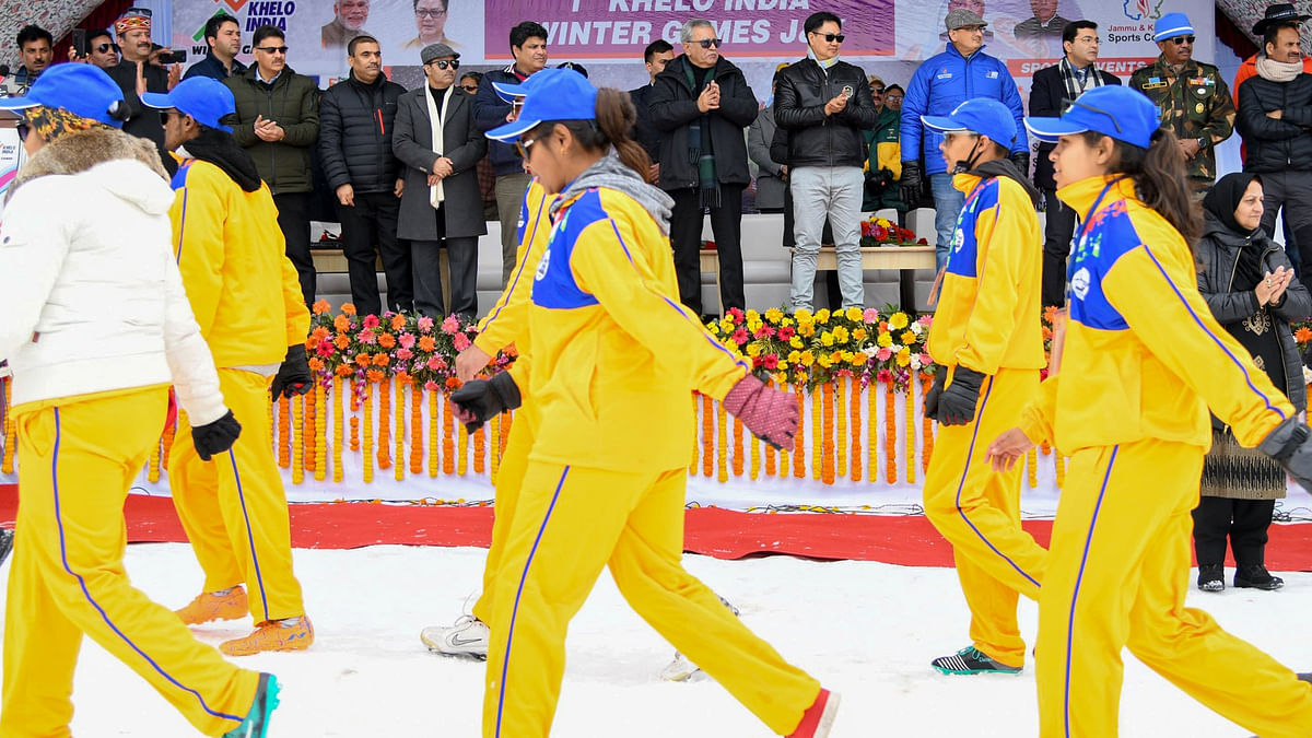 Kashmir's Gulmarg Hosts First-Ever Khelo India Winter Games