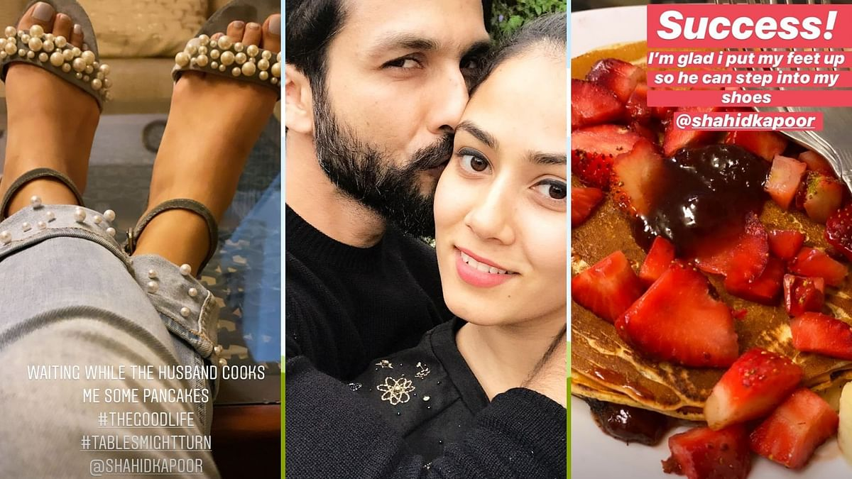 When Shahid Kapoor Made Pancakes So Mira Rajput Could Take a Break