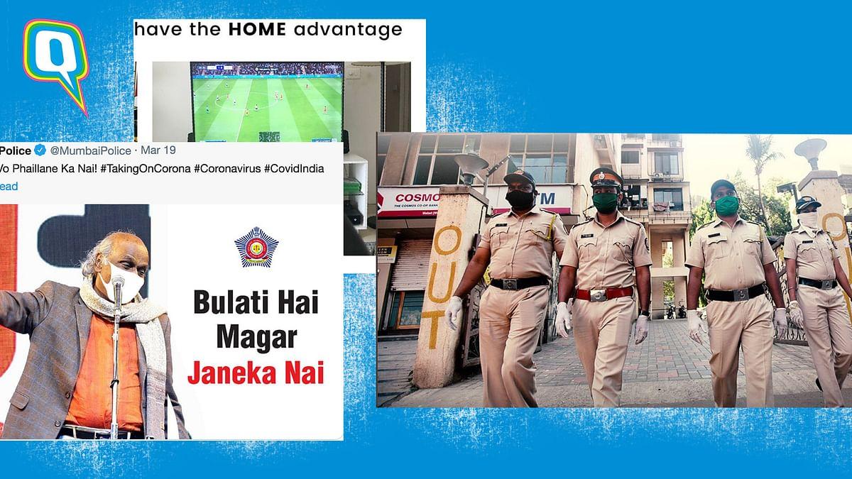 Mumbai Police Has Us Laughing With Educational Coronavirus Memes