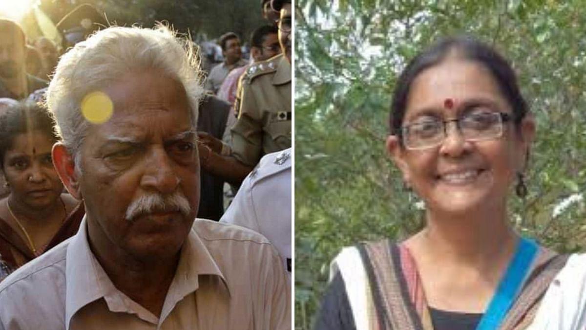 Varavara Rao and Shoma Sen.