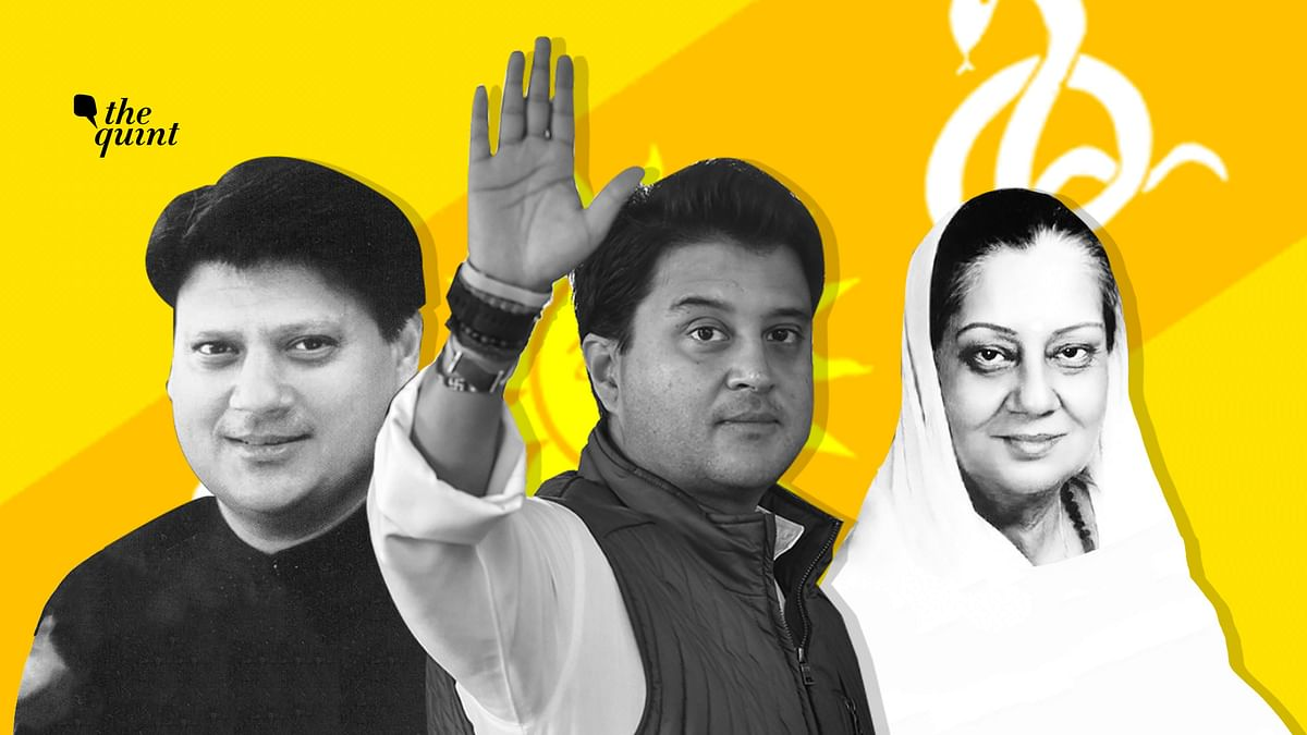 Jyotiraditya Scindia's exit from the Congress is the culmination of a long and twisted family legacy.