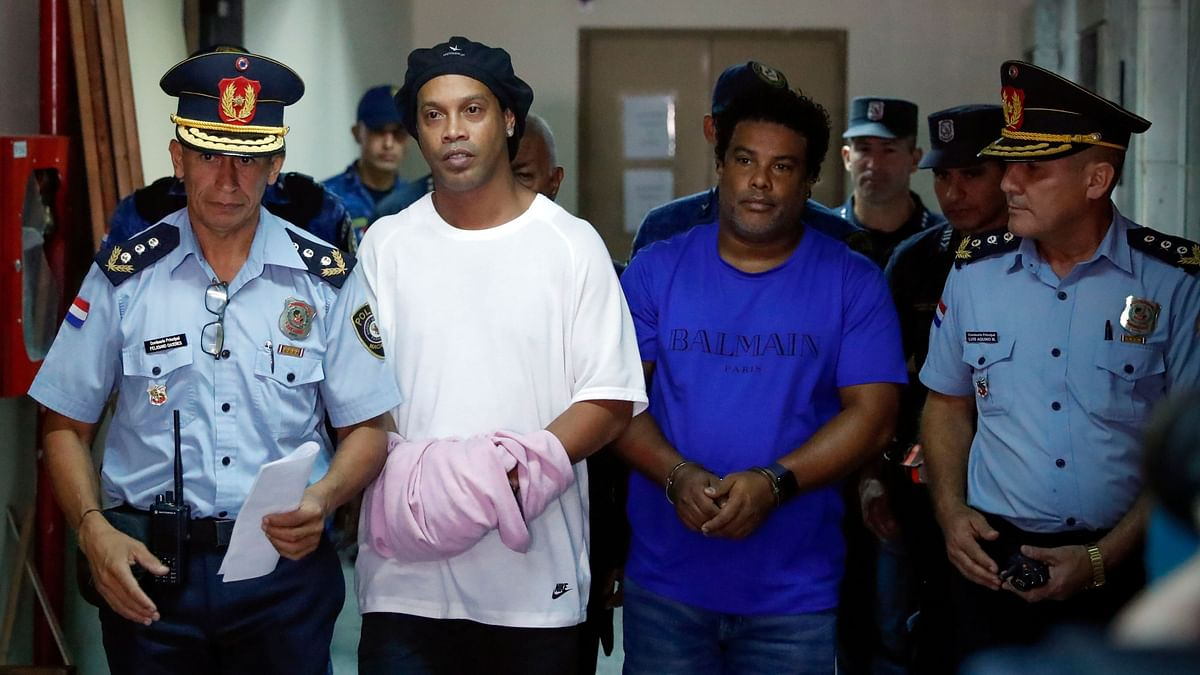 Ronaldinho and his brother Roberto already spent their third night behind bars in the Paraguayan capital of Asuncion.