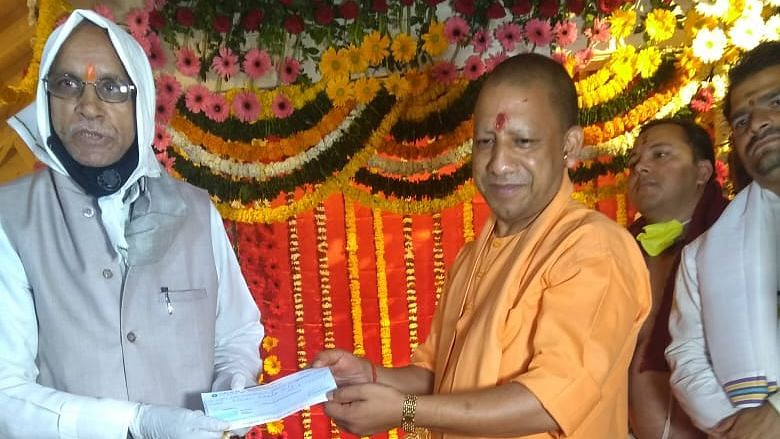COVID-19 Who? In Ayodhya, UP CM & 50 People Shift Ram Lalla Idol