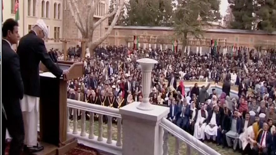 ISIS Claims Attack at Afghan Presidential Inauguration