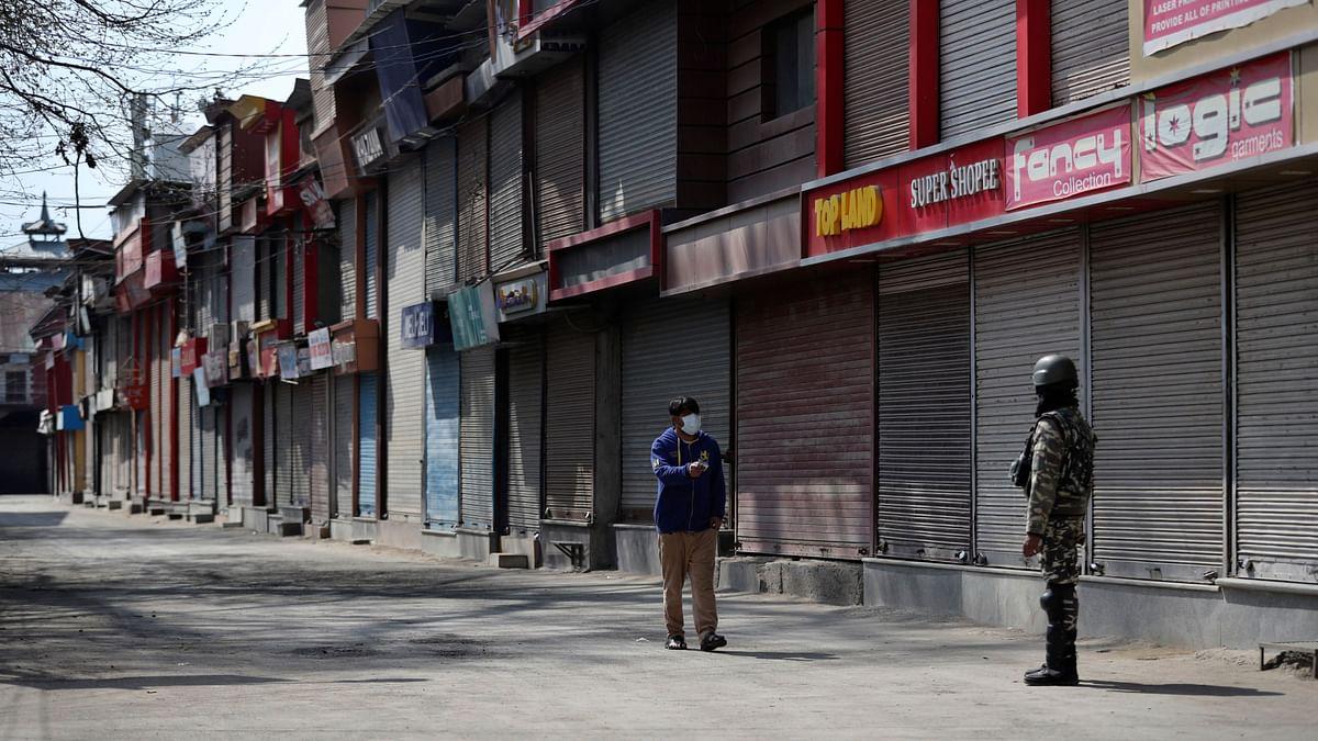 Empty streets of Kashmir