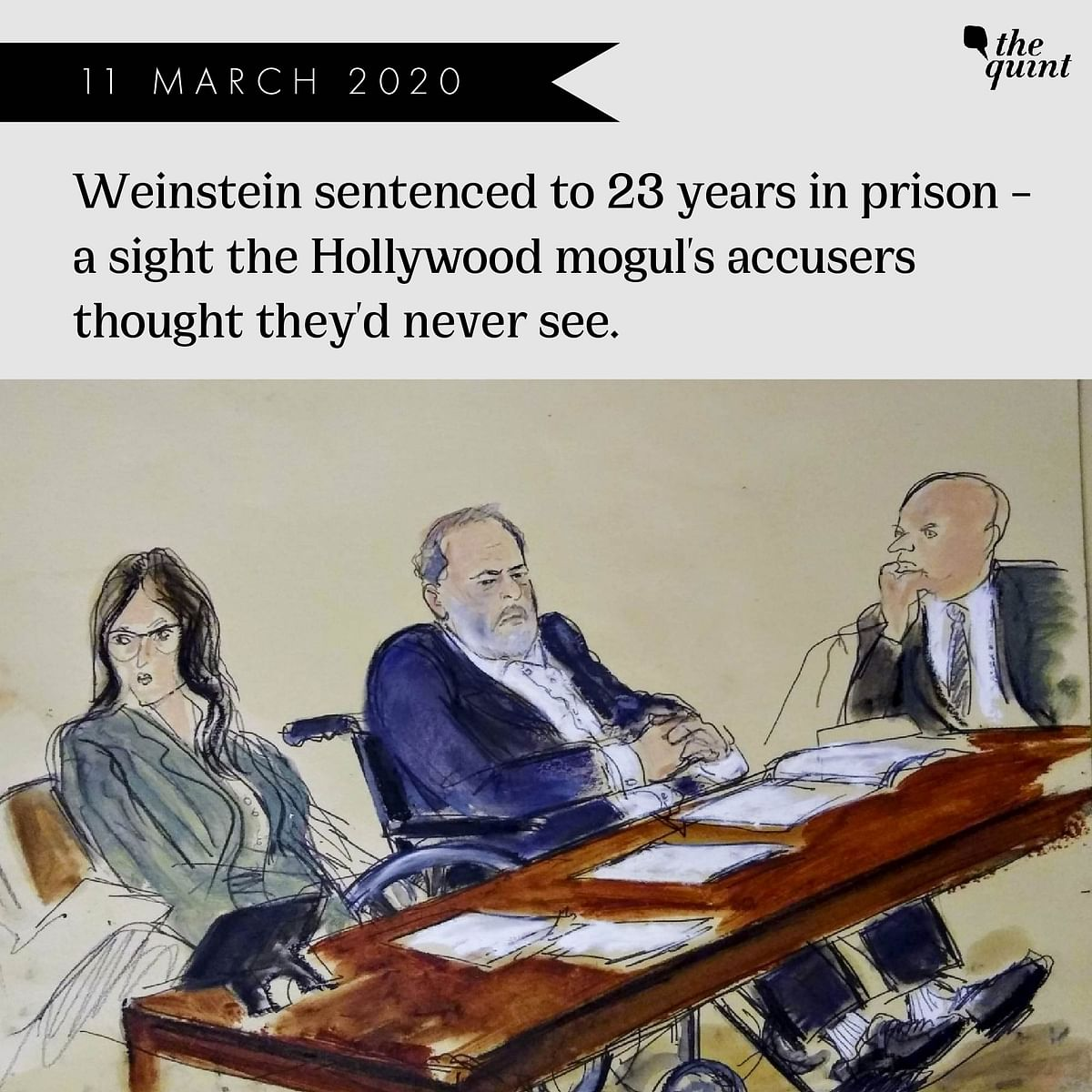 From Hollywood to Prison: How Harvey Weinstein Case Unfolded