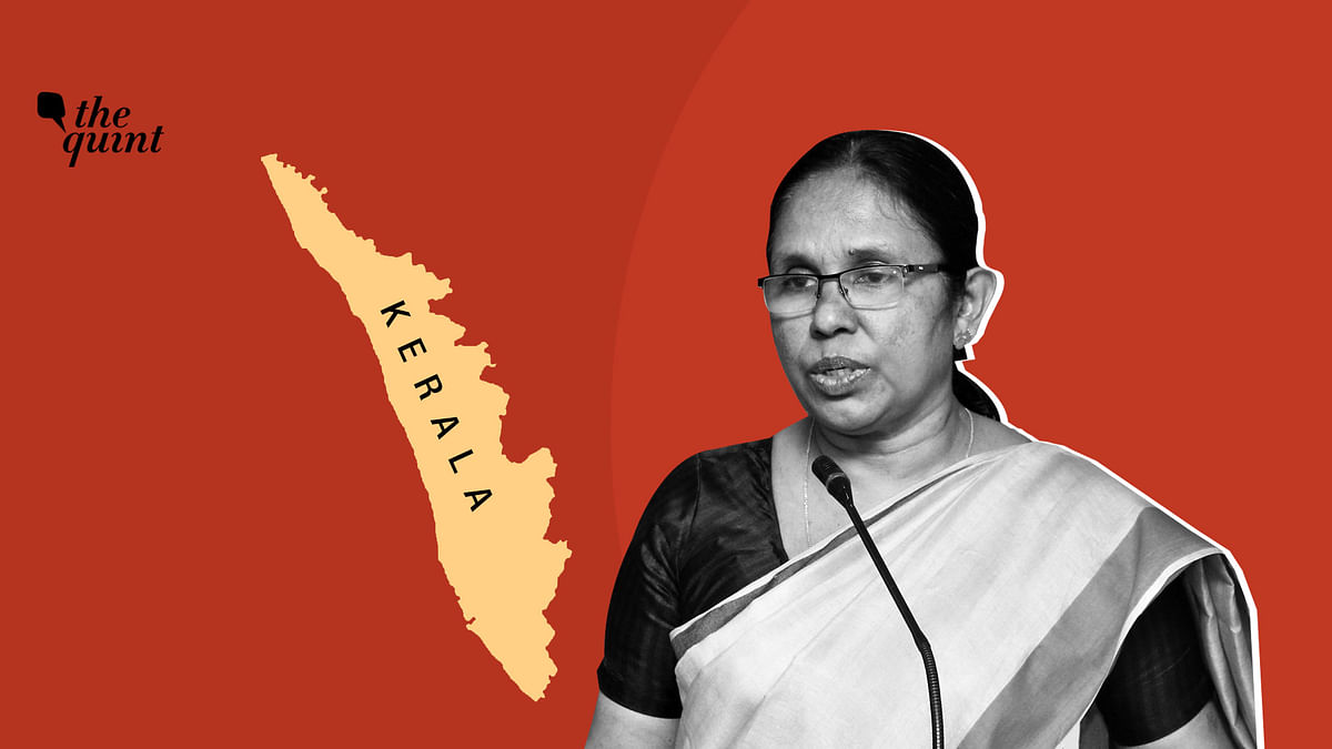 A Nipah Warrior, Kerala Health Min is Now Fighting Coronavirus