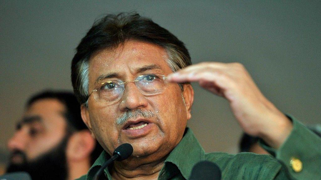 Former Pakistan President Pervez Musharraf.