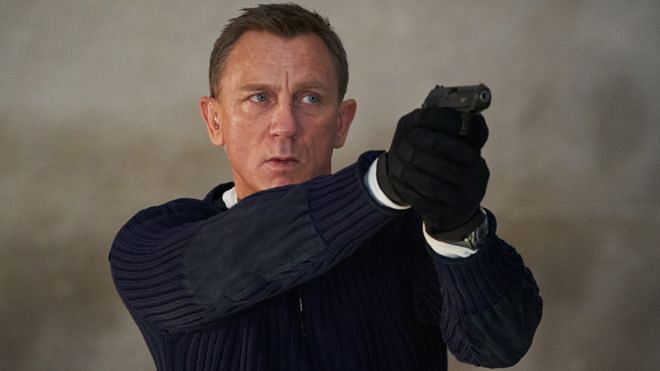 Daniel Craig as 007. <i>No Time to Die</i> will mark his last outing as James Bond.&nbsp;