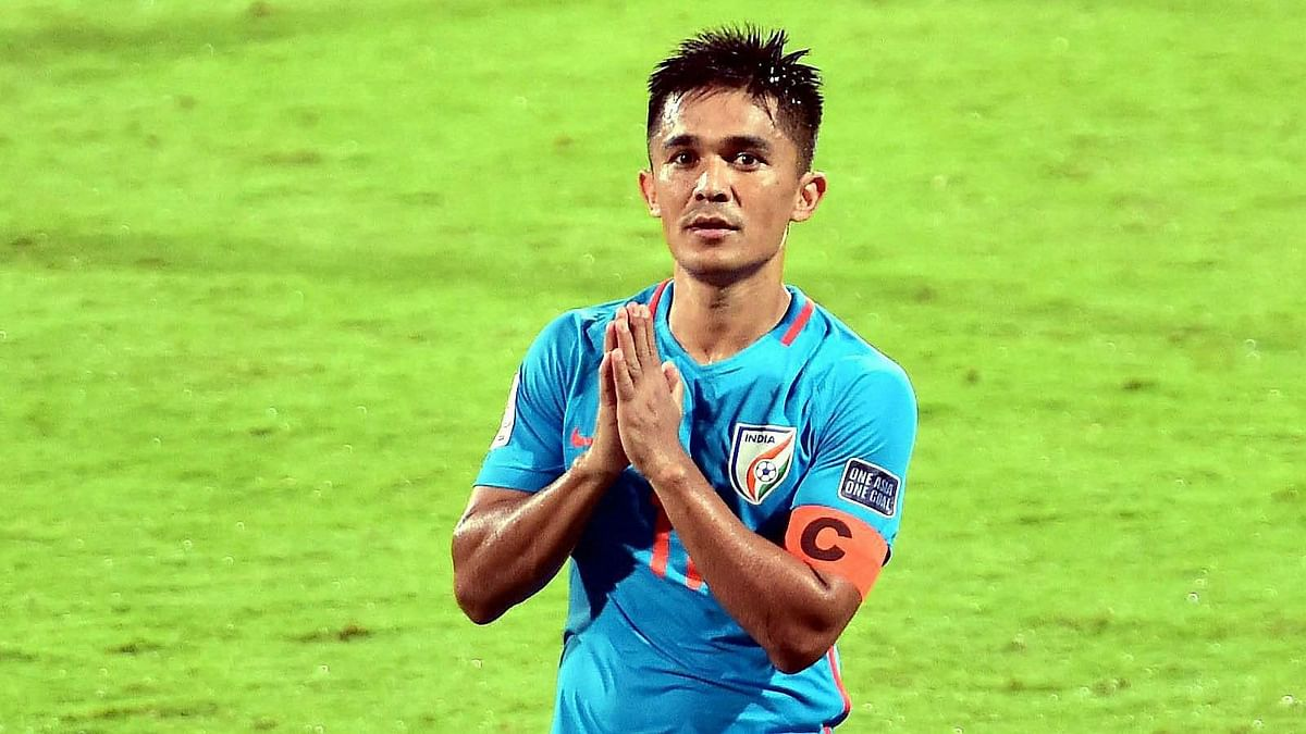 Chhetri Part of FIFA's COVID-19 Campaign Along With Likes of Messi