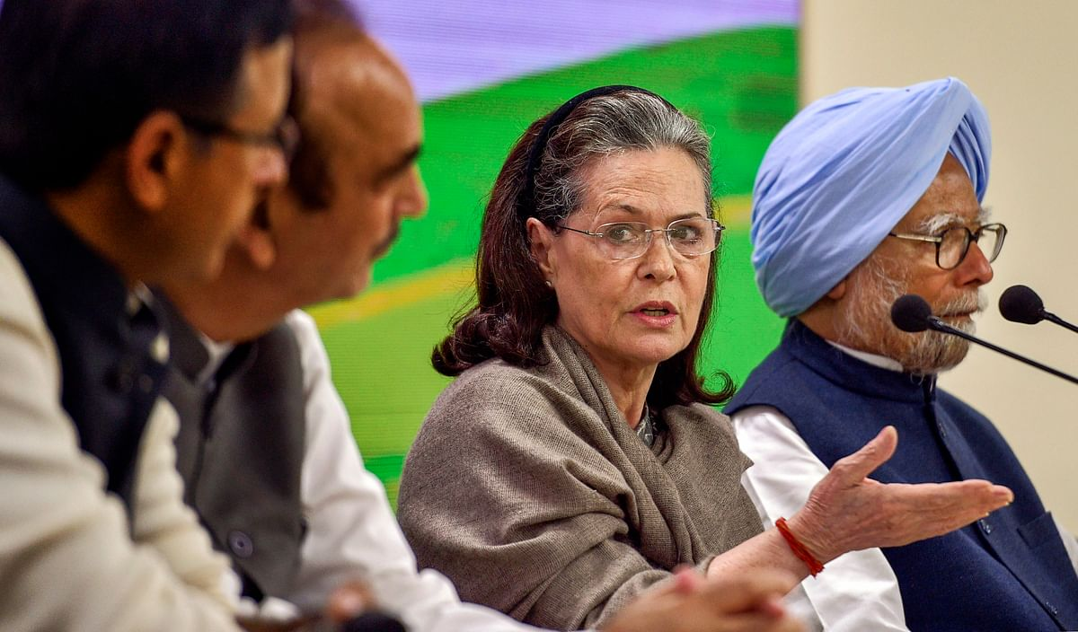 Sonia's Criticism of Govt 'Unfortunate, Unnecessary Politics': BJP