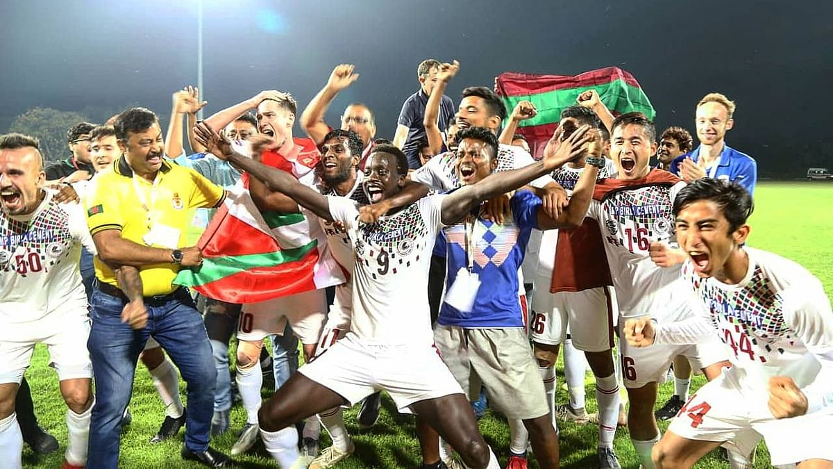 Mohun Bagan beat Aizawl FC 1-0 at the Kalyani Stadium on 10 March to be crowned I-League champions.