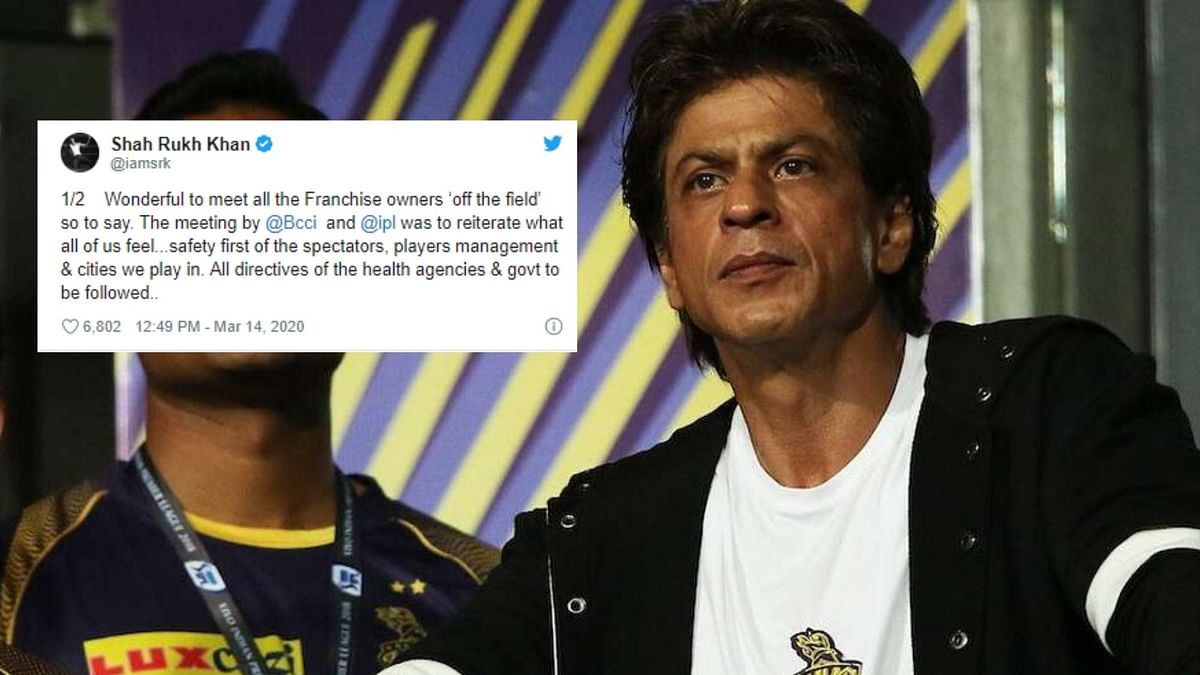 Hope COVID-19 Subsides and IPL Goes on: KKR Owner Shah Rukh Khan