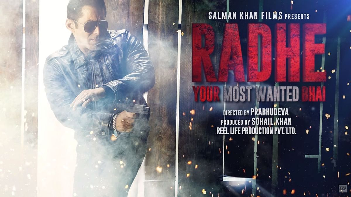 COVID-19: Salman Works On Radhe's Post-Production From Home