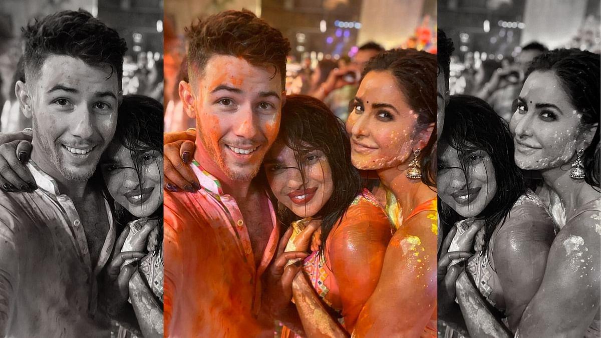 Inside Pics: Priyanka Chopra, Nick Jonas, Katrina Celebrate Holi