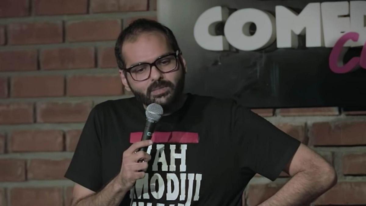 Comedian Kunal Kamra has been banned from flying Vistara.